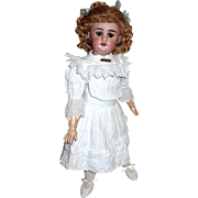 SALE Superb Simon Halbig 1039 Doll, Mohair Wig, Two Costumes