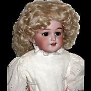 "SALE Gorgeous Simon Halbig 1250 ""SANTA"" Shoulder Head Doll, Mohair Wig, Superb Frenc"