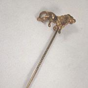 SALE The Lion Buggy Co. Cincinnati, Ohio Metal Stickpin