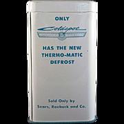 Tin Litho Sears, Roebuck and Co. Coldspot Freezer Bank