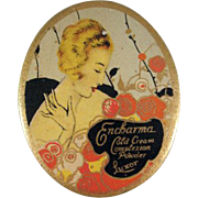 Encharma Cold Cream Complexion Powder Luxor Tin