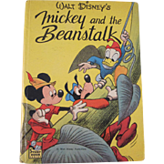 Walt Disney's Micky and the Beanstalk hard back Book 1948