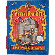 Peter Rabbit the Magician Book Complete in Original Box