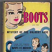 SALE 'Boots and the Mystery of the Unlucky Vase' hard back Book