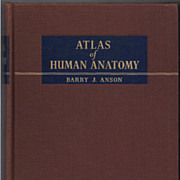 'Atlas of Human Anatomy' Hard Back Book