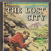 'A Rick Brant Electronic Adventure The Lost City' Hard Back Book
