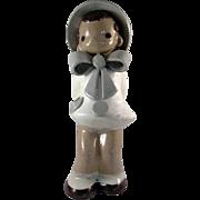 Adorable Jean Manley California Pottery Child Figure