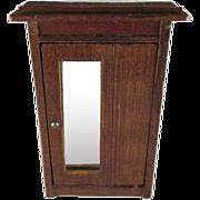 SALE Schneegas Wooden Wardrobe Dollhouse Furniture