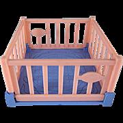 "Ideal 3/4"" Playpen Dollhouse Furniture"