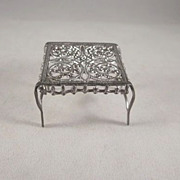 "SALE Adrian Cooke 'Fairy' Table 1/2"" Soft Metal Dollhouse Furniture"