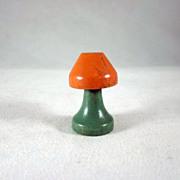 """SALE Jaymar Happy Hour 3/4"""" Table Lamp Dollhouse Accessory"""