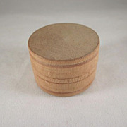 Wooden 1/2 Barrel for a Dollhouse Kitchen Accessory
