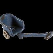 "SALE Kilgore 1/2"" Cast Iron Pull Buggy Dollhouse Furniture"