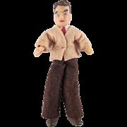 """Flagg 3/4"""" Father Dollhouse Doll"""
