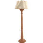 "Renwal No. 70 3/4"" Tan Floor Lamp Hard to Find Dollhouse Accessory"