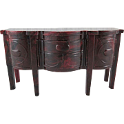 "SALE Ideal 3/4"" Buffet Dollhouse Furniture"
