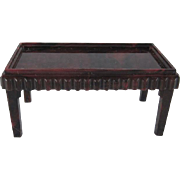 """SALE Ideal 3/4"""" Coffee Table Dollhouse Furniture"""