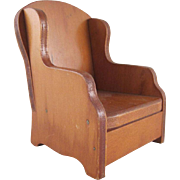 "SALE Wanner, Grand Rapids 1"" Barrel Chair Dollhouse Furniture"