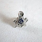 SOLD Mason's, Freemason's Collar Stud