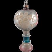 SALE Vintage Glass Table Lamp Christmas Ornament