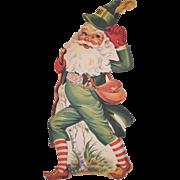 SALE St. Patrick's Day Leprechaun Diecut
