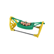SALE Acme Hammock with Rubber Baby Dollhouse Furniture