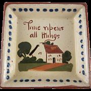 SALE Torquay Devon Motto Ware Cottage Design Dish