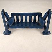SALE Kilgore Cast Iron Swing Dollhouse Furniture