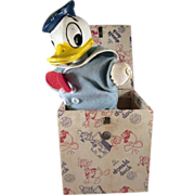 SALE Spear W.D.P. Donald Duck in the Box 1940s