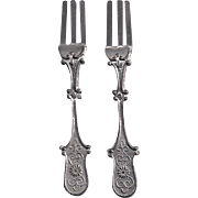 Pewter, Brittania c1890 Toy Fork have 2
