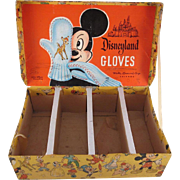 Disneyland Gloves Counter Display Box Nice Graphics