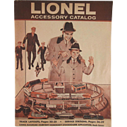 Lionel (Trains) Accessory Catalog 1960