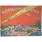 SALE Whitman's Kiddieland Village in Original Box c1930