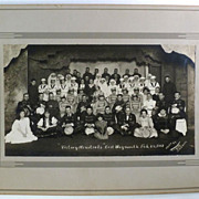 WW I Victory Photograph Victory Minstrels Theatre Group Weymouth MA