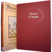 Flowers of Delight, Leonard de Vries, Osborne Collection of Early Children's Books