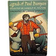 "REDUCED ""Legend of Paul Bunyan"", Illustrated by Richard Bennett"