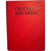 REDUCED Chuckles and Grins 1928 Edited by Franklin K. Mathiews
