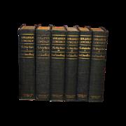 """REDUCED Abraham Lincoln,""""The War Years"""" """"The Prairie Years"""" Carl Sandburg"""