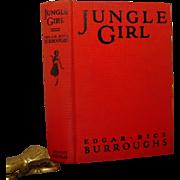 Jungle Girl, Edgar Rice Burroughs, Grosset & Dunlap 1937
