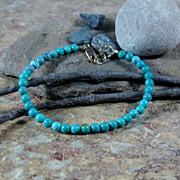 SALE Turquoise Summer Bracelet Gold Filled