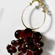 Hessonite Quartz Gemstone Necklace