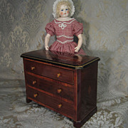 Commode - Antique Miniature With French Polish Finish for Fashion