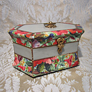 Fancy French Paper Candy Box - for Doll Presentation or Display