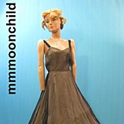 B2646 Vintage dress party 1940s Swing dance evening