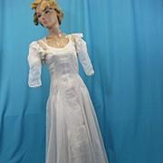 Vintage dress gown 1930s evening swing dance