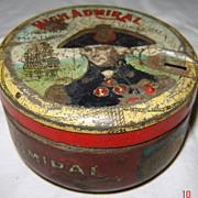 High Admiral Tobacco Tin
