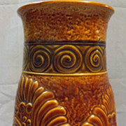 SALE Large & Stunning 'Bay Keramik'  German Retro Vase