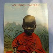 Black Americana Postcard -1910