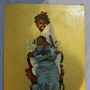 Black Americana Postcard -1911