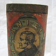 Wellington Knife Polish Full Tin - Circa 1900